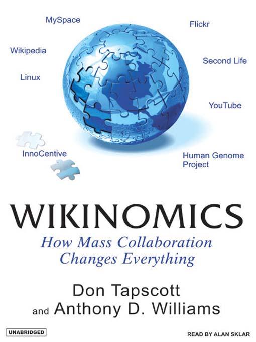 Title details for Wikinomics by Don Tapscott - Wait list
