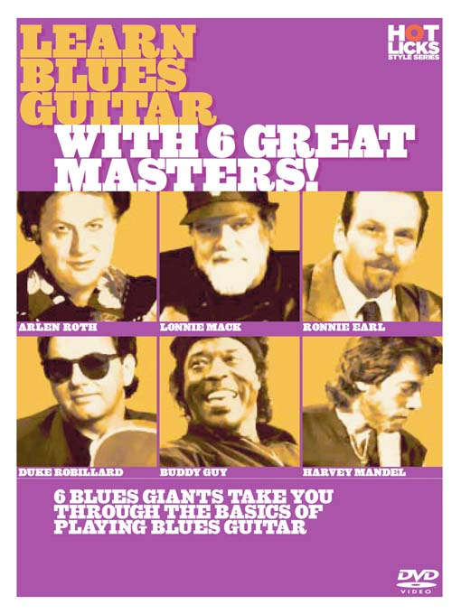 Title details for Learn Blues Guitar With 6 Great Masters by Hot Licks - Wait list