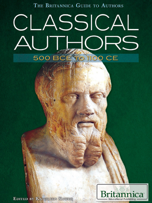 Title details for Classical Authors by Britannica Educational Publishing - Available