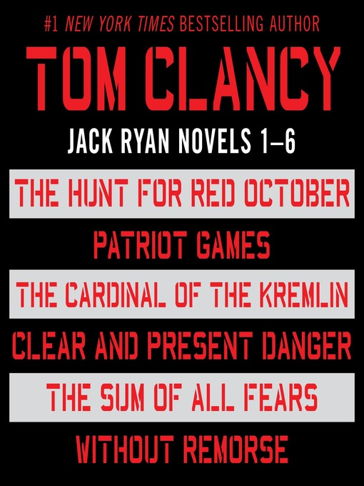 Title details for Jack Ryan, Books 1-6 by Tom Clancy - Available