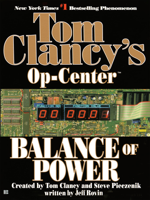 Title details for Balance of Power by Tom Clancy - Wait list