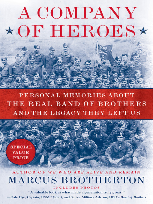 Title details for A Company of Heroes by Marcus Brotherton - Wait list