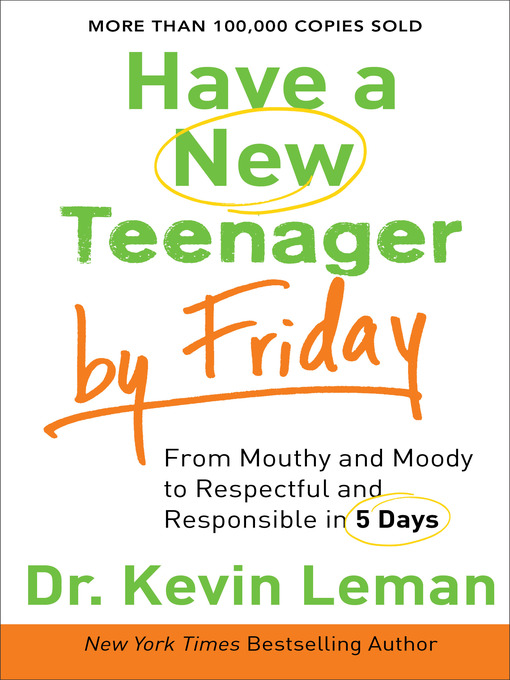 Title details for Have a New Teenager by Friday by Dr. Kevin Leman - Available