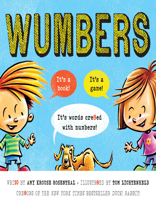 Title details for Wumbers by Amy Krouse Rosenthal - Available
