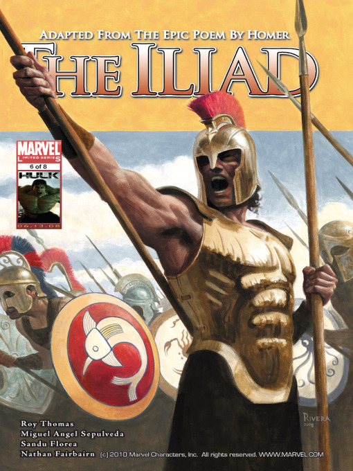 Title details for Marvel Illustrated: The Iliad, Part 6 by Miguel Angel Sepulveda - Available