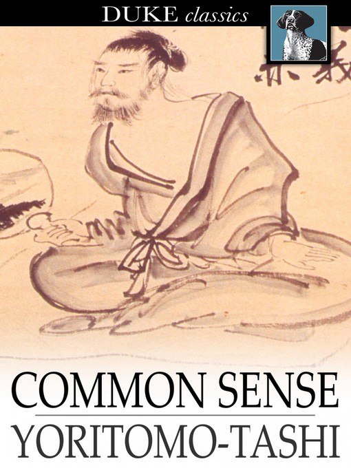 Title details for Common Sense by Yoritomo-Tashi - Wait list