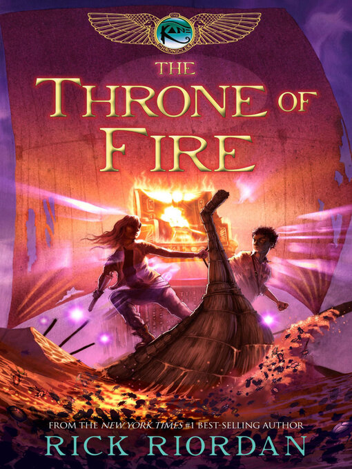 Title details for The Throne of Fire by Rick Riordan - Available