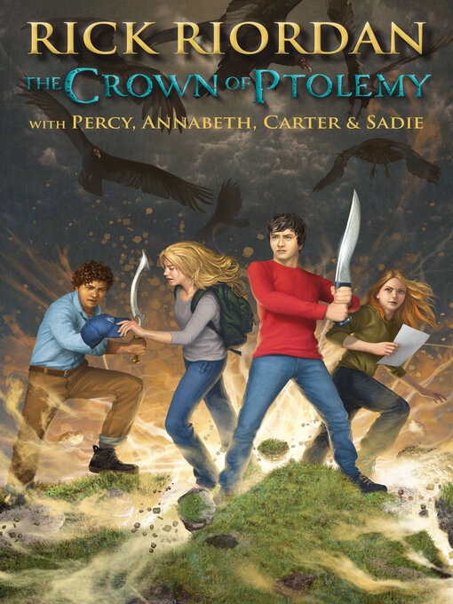 Title details for The Crown of Ptolemy by Rick Riordan - Wait list
