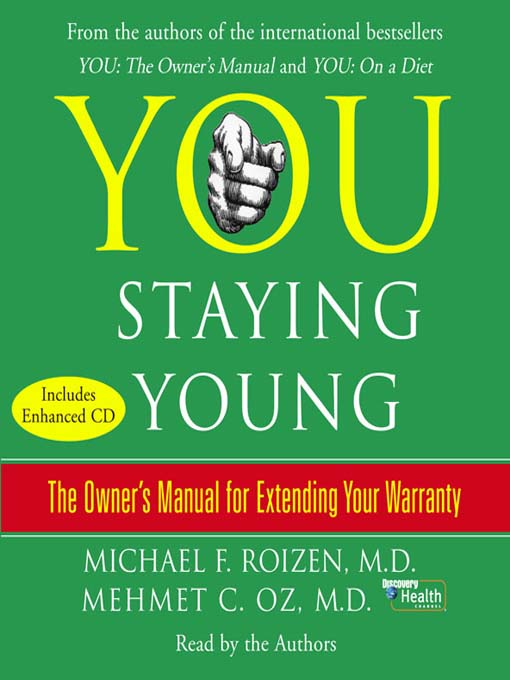 Title details for YOU: Staying Young by Michael F. Roizen - Available