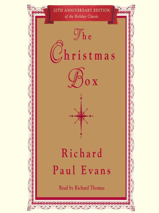 Title details for The Christmas Box by Richard Paul Evans - Wait list
