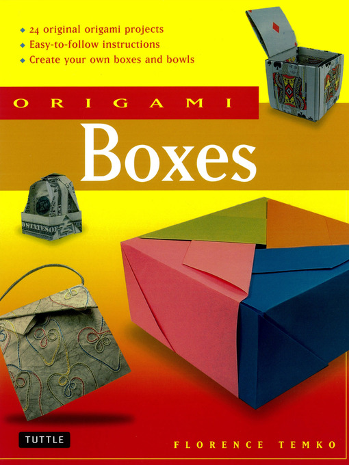 Title details for Origami Boxes by Florence Temko - Wait list