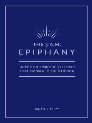 3 AM Epiphany by Brian Kiteley.                                              AVAILABLE eBook.